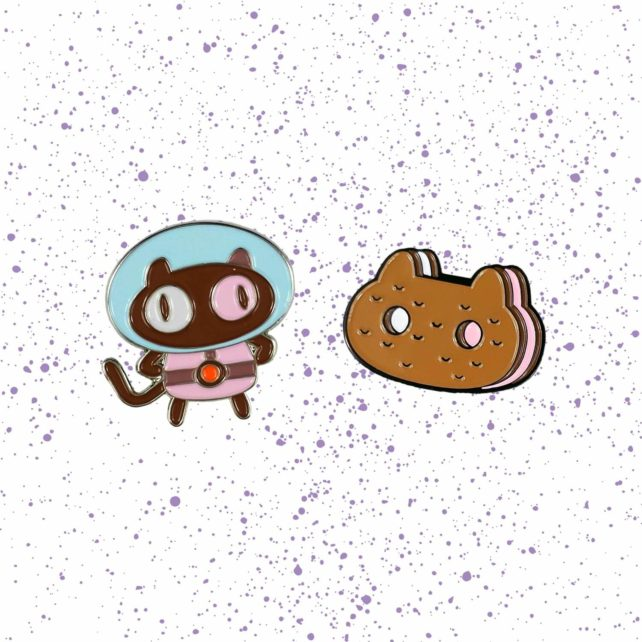Steven Universe Cookie Cat Pin Set
