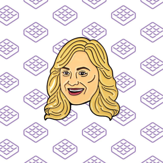 Leslie Knope Enamel Pin Parks and Recreation